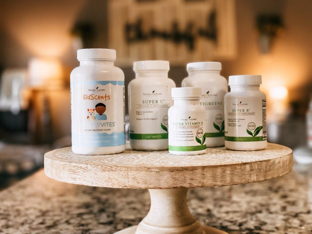 Vitamins to boost children's immunity on pedestal