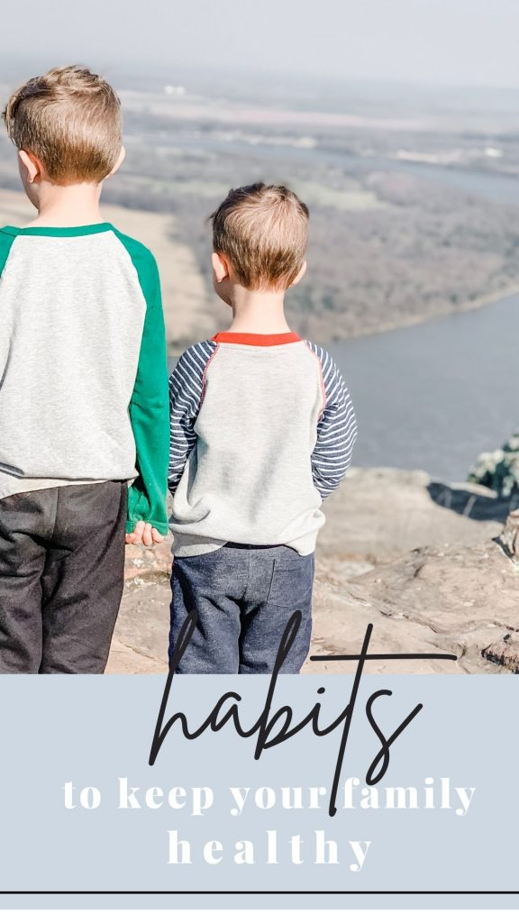 Simple habits to keep your family healthy this fall pin image
