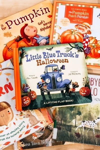 Favorite Fall Children's Books: Apples & Pumpkins